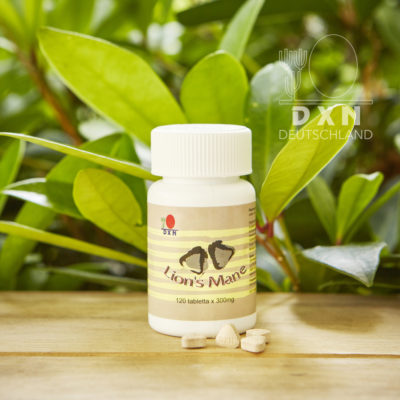 DXN Lion's Mane Hericium Packung