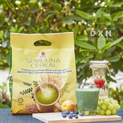 DXN Spirulina Cereal Packung